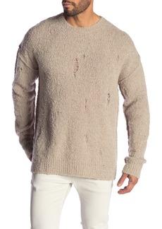AllSaints Hannet Oversized Wool Blend Sweater