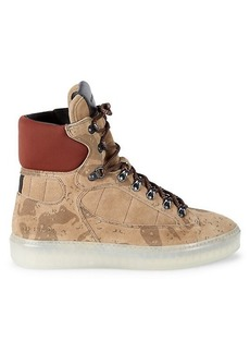 AllSaints Jace Suede High-Top Sneakers