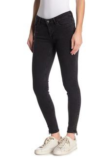 AllSaints Mast Ankle Zip Skinny Jeans