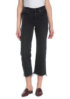 AllSaints Mazzy Cropped Wide Leg Jeans