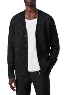 Men's Allsaints Cosmic Wool Blend Cardigan