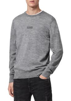Men's Allsaints Merino Wool Crewneck Sweater