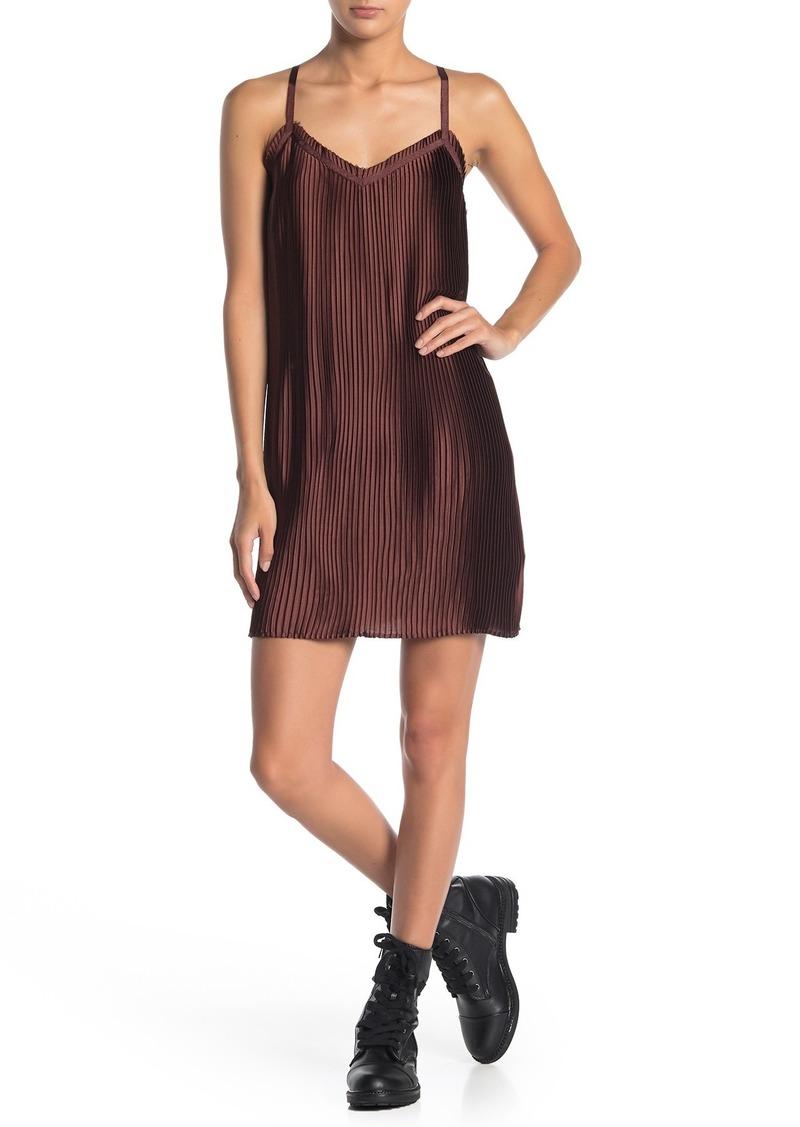 AllSaints Merin Accordion Pleat Cami Dress