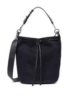 AllSaints Ray Leather Bucket Bag