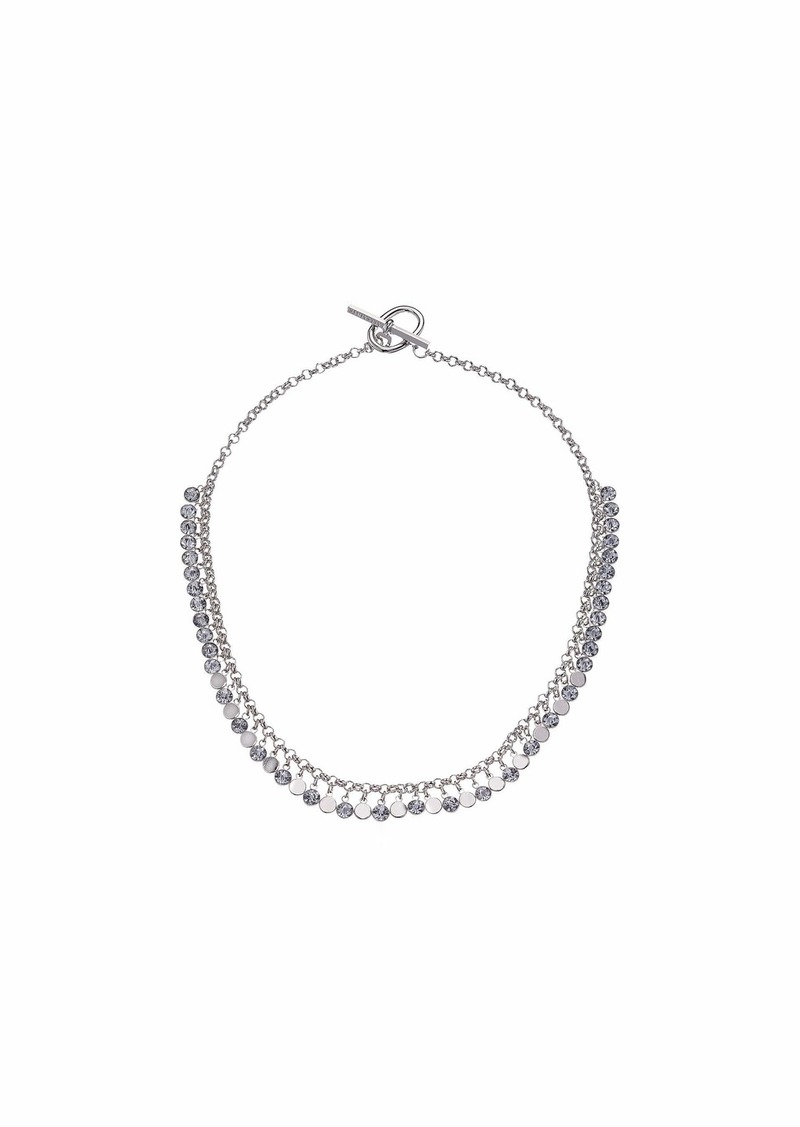 AllSaints Shaky Stone Collar Necklace