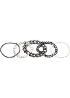 AllSaints Soft Chain Set Ring