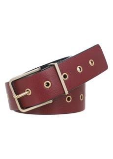 Women's Allsaints Grommet Leather Belt