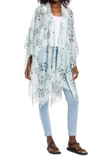 Women's Allsaints Jasmine Cotton & Silk Ruana
