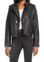 Women's Allsaints Klyn Leather Biker Jacket