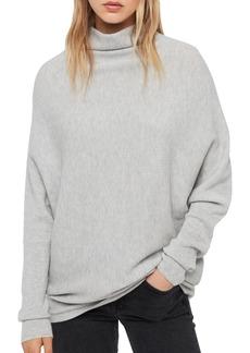 Women's Allsaints Ridley Funnel Neck Wool & Cashmere Sweater