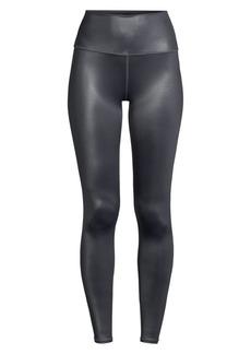 Alo Yoga 7/8 High-Waist Shine Crop Leggings