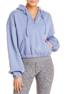 Alo Yoga Stadium Quarter-Zip Hooded Sweatshirt