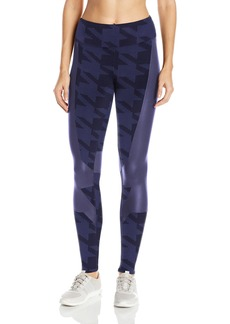 Alo Yoga Women's Accelerate Legging Houndstooth/Rich Navy Gloss