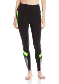 Alo Yoga Women's Elevate Legging Glow Stick Glossy/Black/Cadet Grey