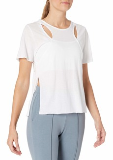 Alo Yoga Women's Glide Short Sleeve Top