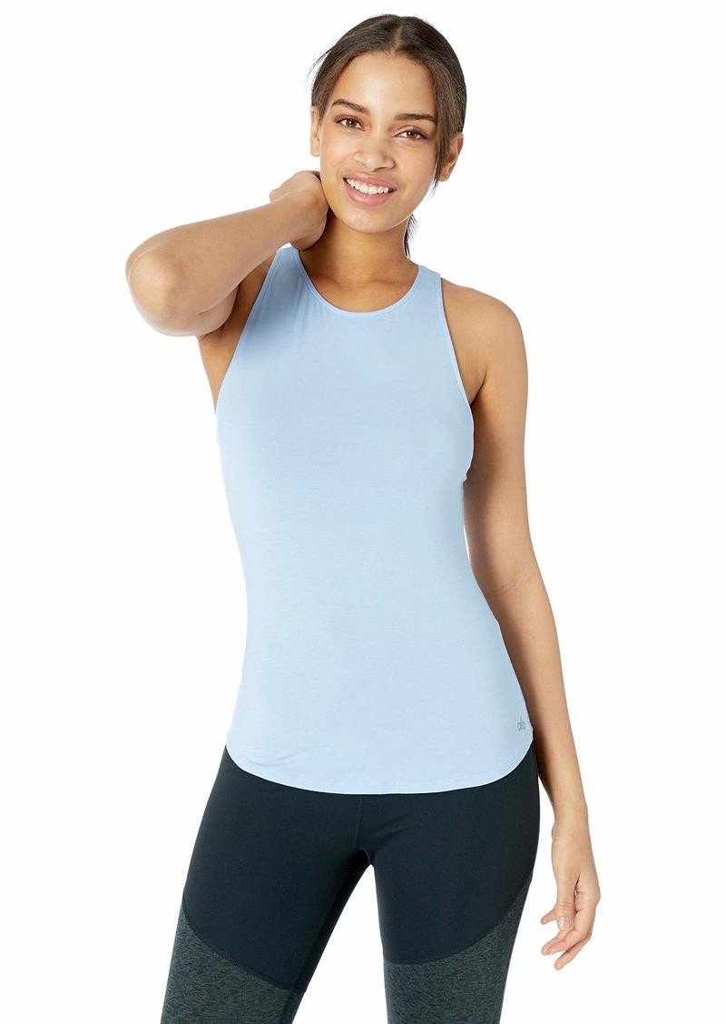 Alo Yoga Women's Join Tank uv Blue M