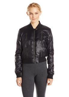 Alo Yoga Women's Off Duty Bomber Jacket  L