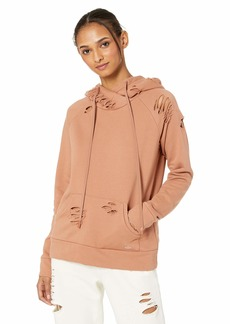 Alo Yoga Women's Ripped Hoodie  L