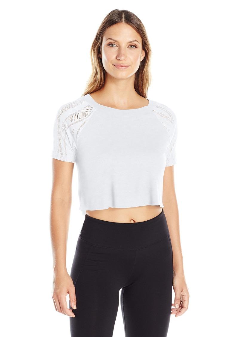 Alo Yoga Women's Sport Short Sleeve Top White