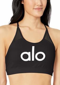 Alo Yoga Women's Starlet Bra Bra Black/ALO/White M