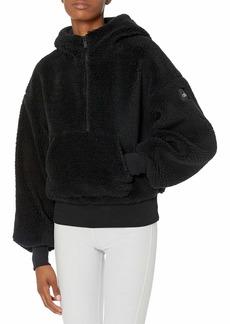 Alo Yoga womens Streetside Half Zip Hoodie Jacket   US