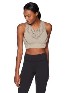 Alo Yoga Women's Vixed Fitted Crop Tank  S