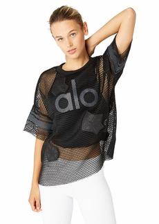 Alo Yoga Women's Yoga Jersey Short Sleeve Top  XS