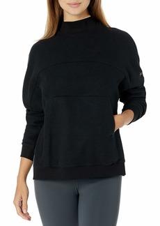 Alo Yoga womens Segment Pullover Sweatshirt   US