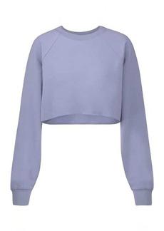 Alo Yoga Double Take cropped sweatshirt