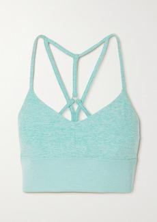 Alo Yoga Lavish Stretch-jersey Sports Bra