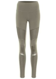Alo Yoga Moto high-rise leggings