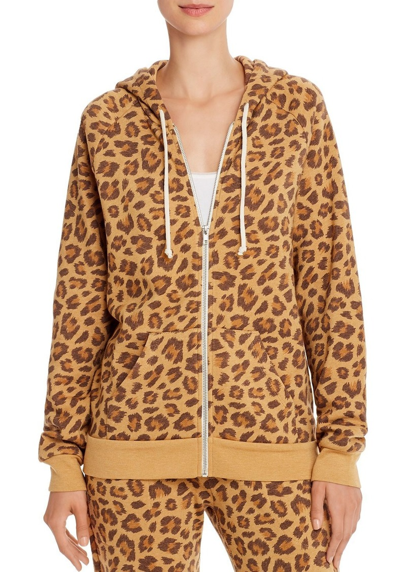 Alternative Apparel ALTERNATIVE Adrian Leopard Print Fleece Hoodie - 100% Exclusive