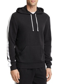 ALTERNATIVE Apparel Stripe-Trimmed Hooded Sweatshirt - 100% Exclusive