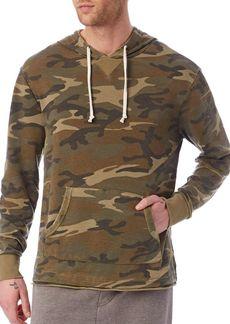 Alternative Apparel ALTERNATIVE Camo Long Sleeve Hoodie