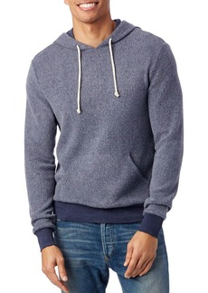 Alternative Apparel ALTERNATIVE Eco Teddy Challenger Hooded Fleece Sweatshirt