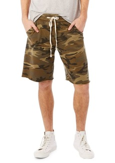 Alternative Apparel ALTERNATIVE Lightweight French Terry Burnout Shorts