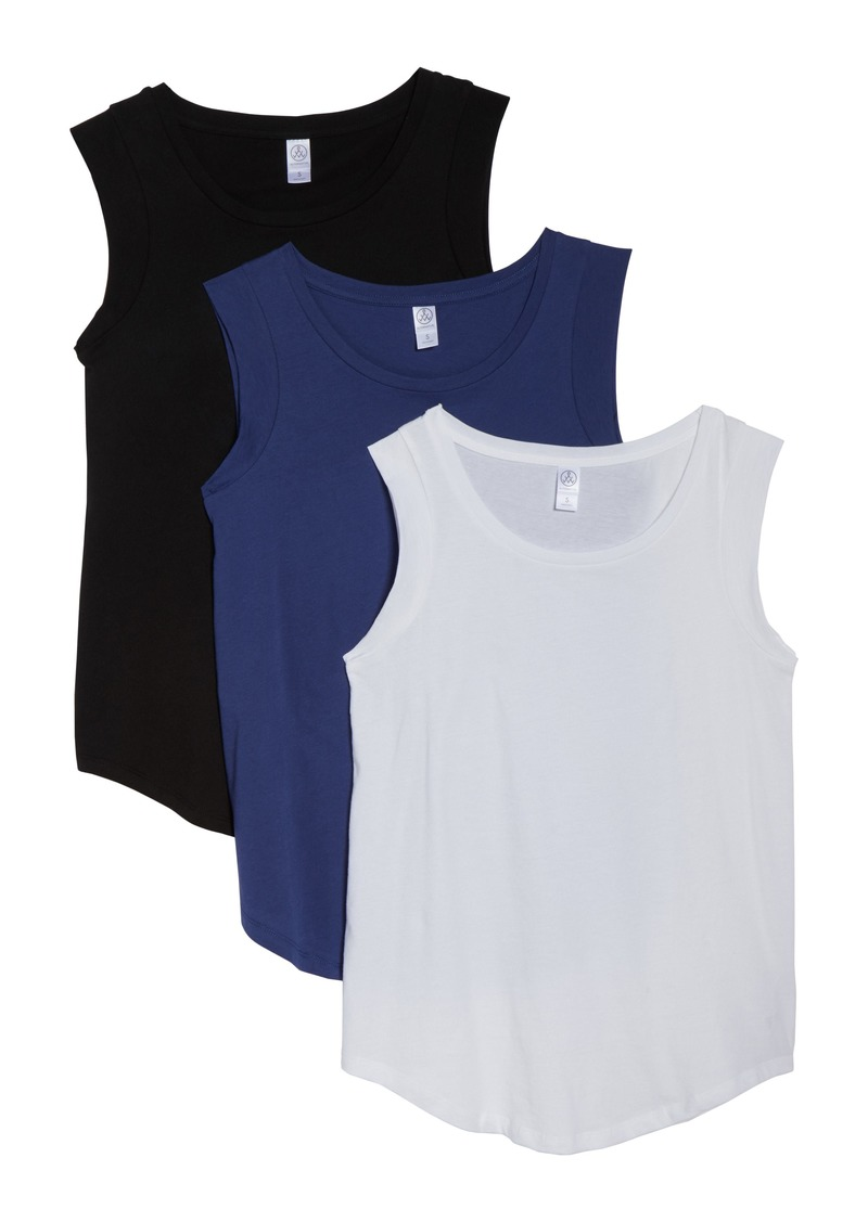 Alternative Luxe Set of 3 Cap Sleeve Tees