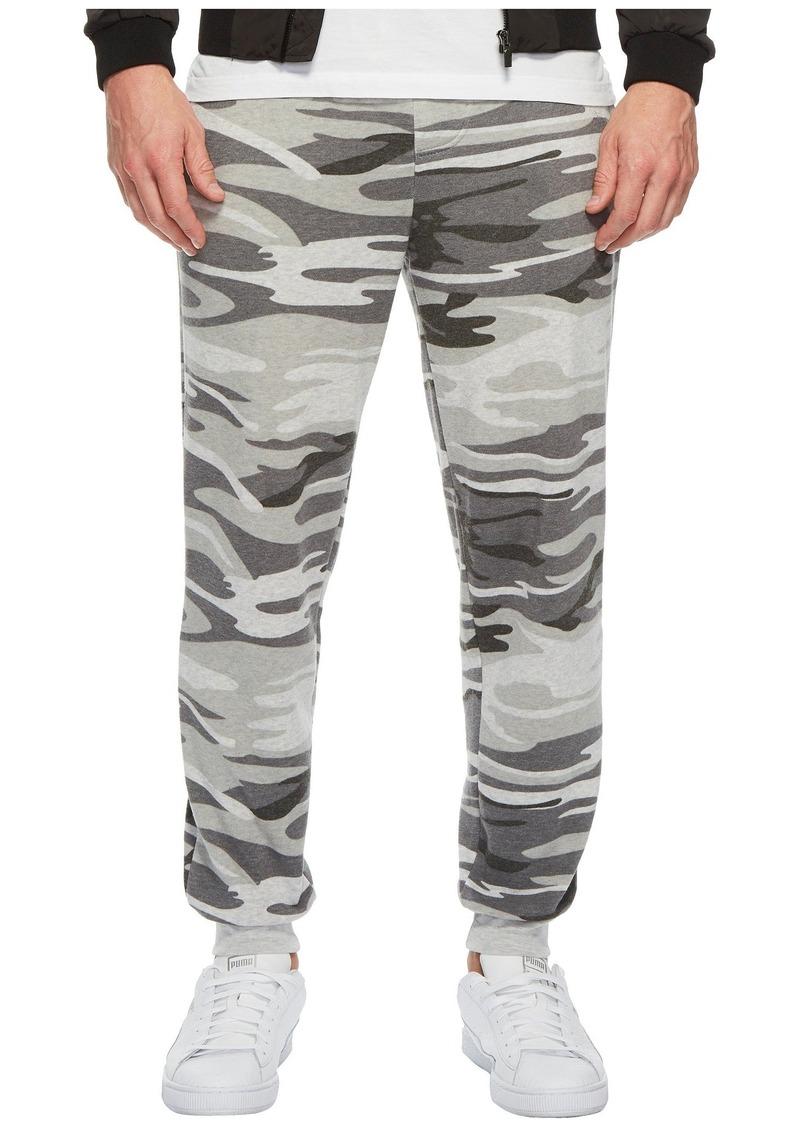 Alternative Apparel Alternative Men's Dodgeball Printed eco-Fleece Pants Light Grey Camouflage L