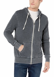 Alternative Apparel Alternative Men's Laid Back Zip Hoodie  M