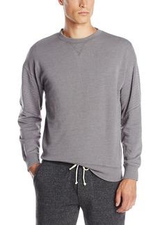 Alternative Apparel Alternative Men's Light French Terry Quilted Crew Neck Sweatshirt