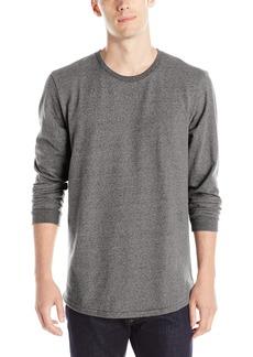 Alternative Apparel Alternative Men's Mock Twist Jersey Warm Up Long Sleeve