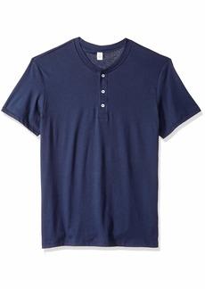 Alternative Apparel Alternative Men's Organic Short Sleeve Henley