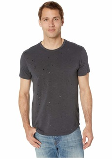 Alternative Apparel Alternative Men's Postgame Paint Splatter Washed slub Crew t-Shirt
