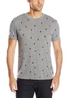 Alternative Apparel Alternative Men's Printed Eco Jersey Crew Grey Tree Dot XL