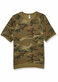 Alternative Apparel Alternative Men's Short Sleeve Sweatshirt
