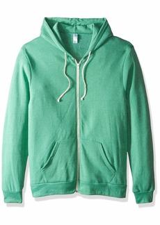 Alternative Apparel Alternative Men's Rocky Eco-Fleece Zip Hoodie True Green XS