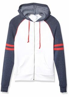 Alternative Apparel Alternative mens Rocky Throwback Eco-fleece Zip Hoodie Hooded Sweatshirt   US