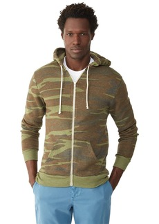 Alternative Apparel Alternative Men's Rocky Zip Hoodie Sweatshirt