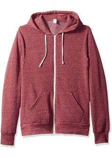 Alternative Apparel Alternative Men's Rocky Zip Hoodie Sweatshirt  S