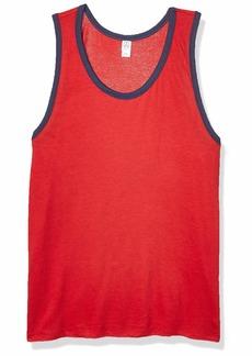 Alternative Apparel Alternative Men's Keeper Vintage Jersey Ringer Tank Top